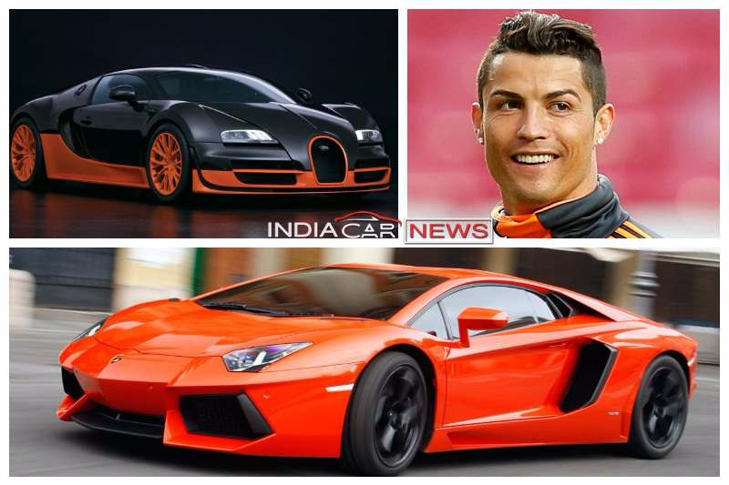 Cristiano Ronaldo Cars Collection