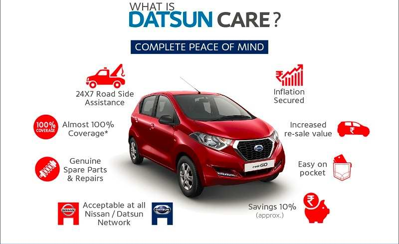 Datsun CARE service package