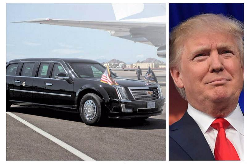 Donald Trump Cadillac One