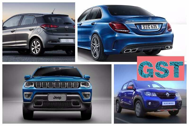 GST Impact On Cars