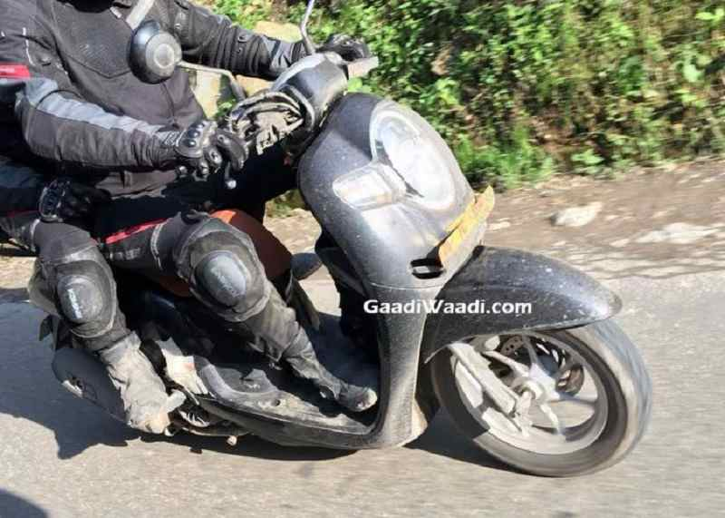Honda Scoopy Scooter India Spied 2