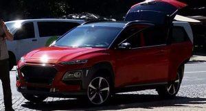 Hyundai Konda Front Spied In Portugal