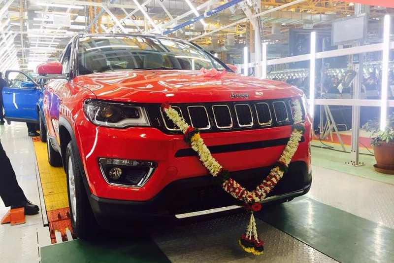 Jeep Compass Production Begins