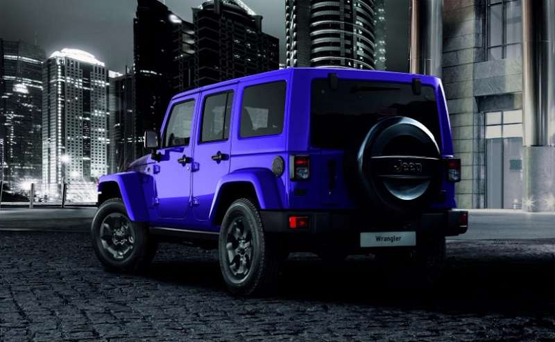 Jeep Wrangler Night Eagle Edition rear