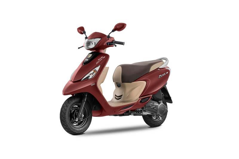 2017 TVS Scooty Zest Matte Series