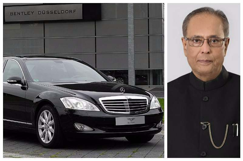 Mercedes-Benz S600 (W221) Pullman Guard President of India