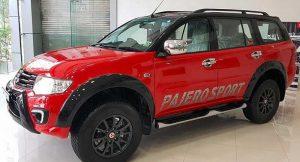 Mitsubishi Pajero Sport Select Plus side profile