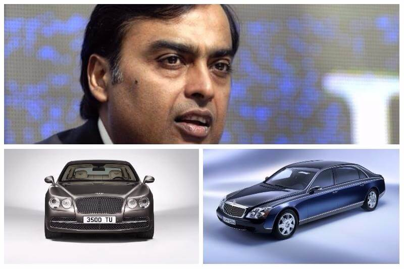Mukesh Ambani Cars Collection Pictures Details