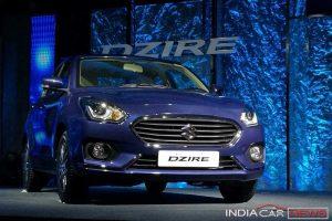 New Maruti Suzuki Dzire 2017 price