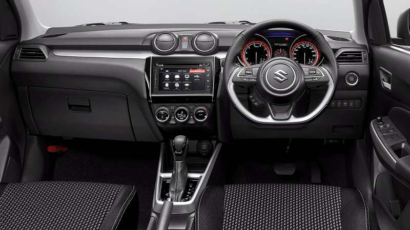 New Maruti Swift Interior Global model