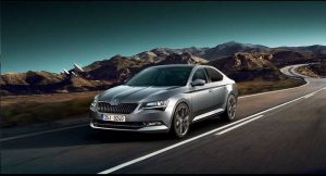 New Skoda Superb 2018 India front