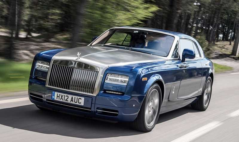 Cristiano Ronaldo Phantom Rolls Royce