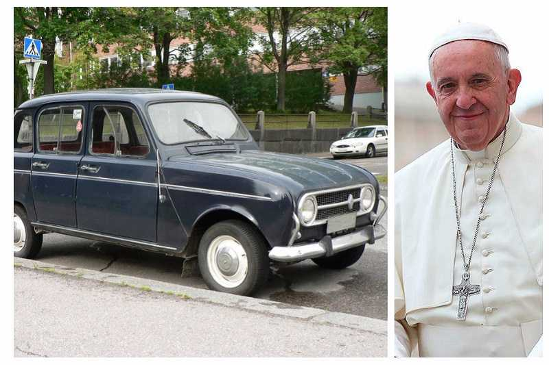 Pope Francis Renault 4