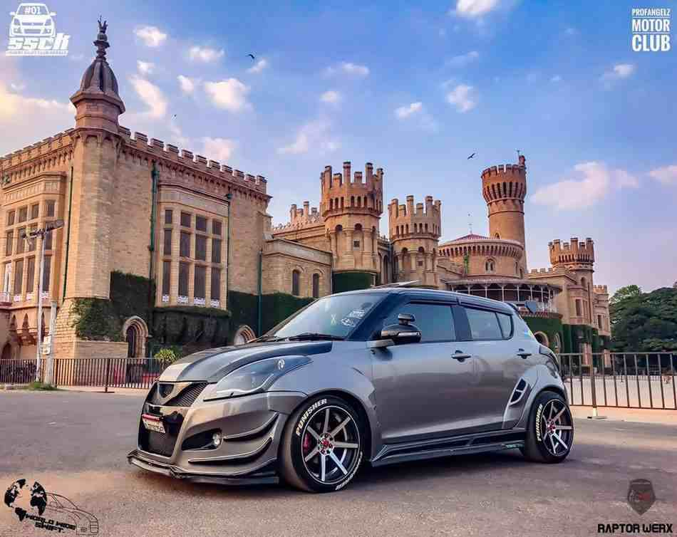 Maruti Swift Punisher Side