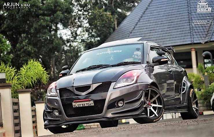 Maruti Swift Punisher Front