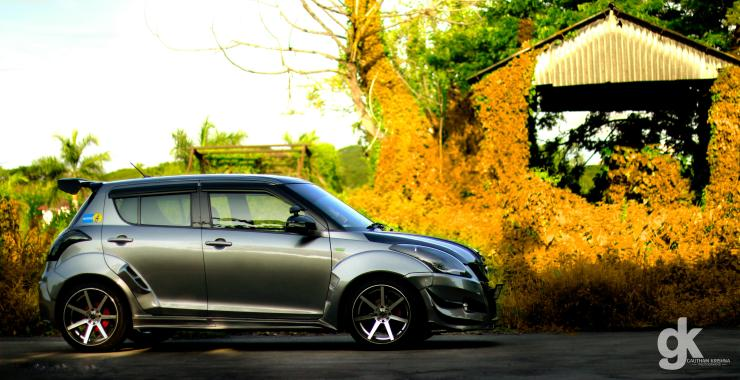 Maruti Swift Punisher Side profile