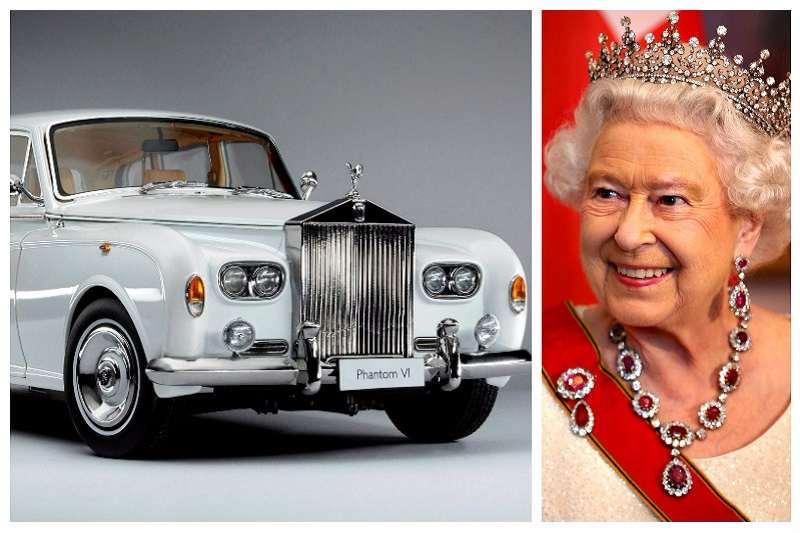 Queen Elizabeth II Rolls Royce Phantom VI