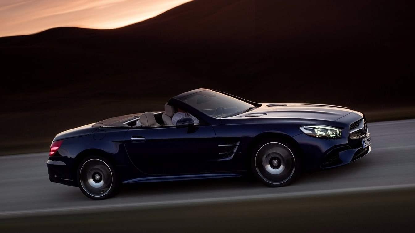 Ratan Tata Mercedes Benz500 SL