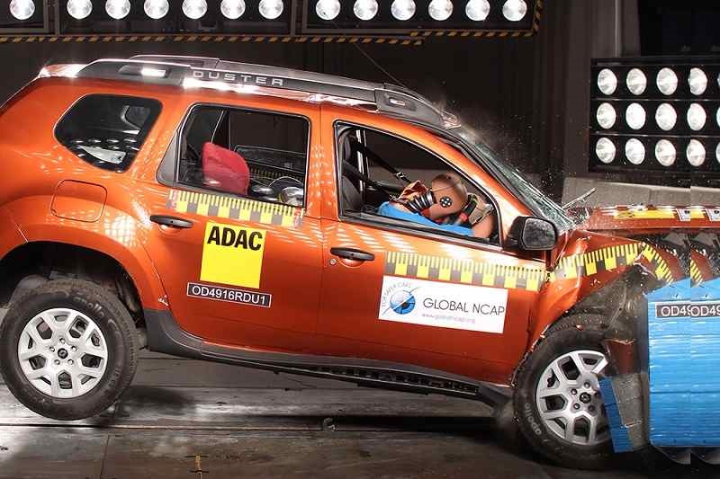 Renault Duster Global NCAP Test