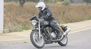 Royal Enfield Continental GT 750 Spied