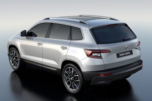 Skoda Karoq Unveiled Rear Profile