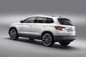 Skoda Karoq Unveiled Rear Side Quarter