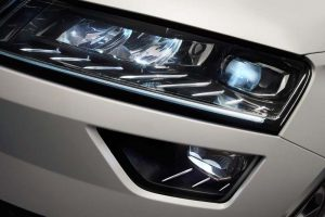 Skoda Karoq headlight