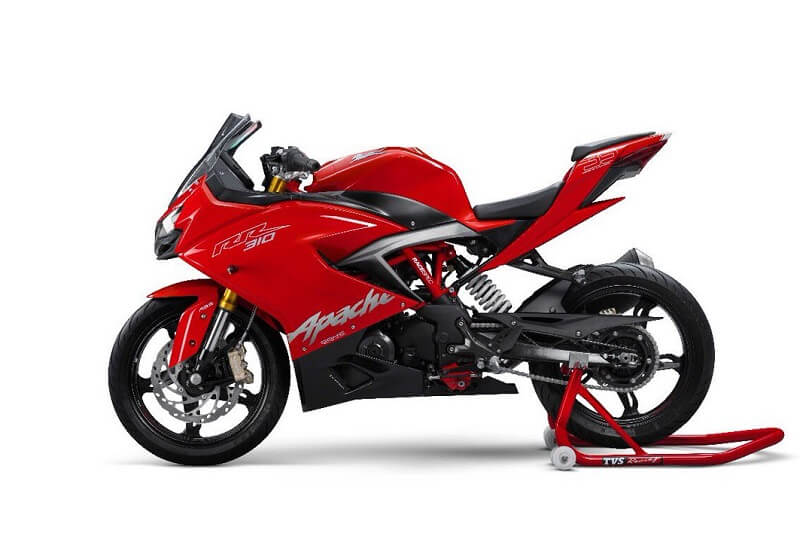 TVS Apache 300 Side Profile