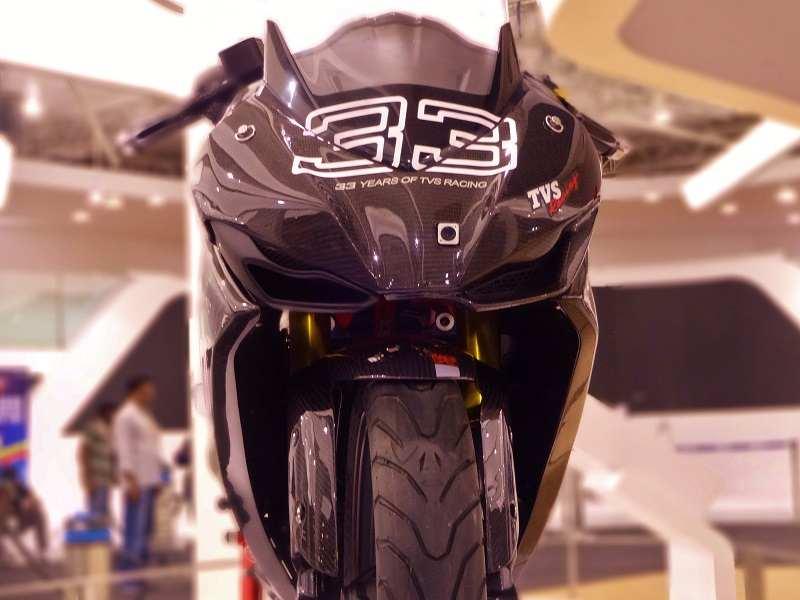TVS Apache RR 310S front