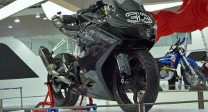 TVS Apache RR 310S motorcycle