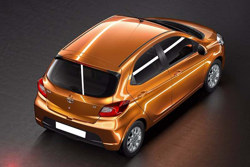 Tata Tiago 2018 Top View