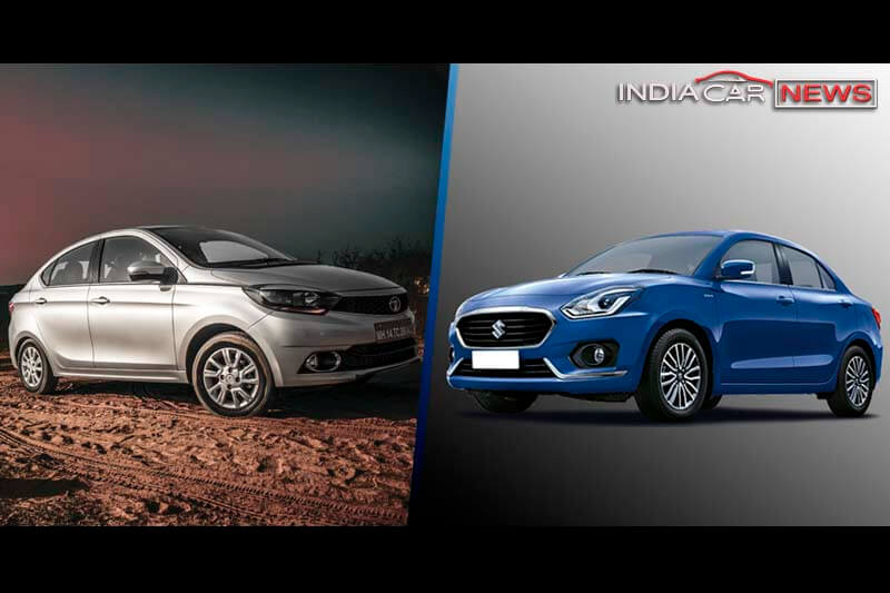 Tata Tigor Vs Maruti Dzire Comparison