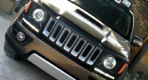 Toyota Fortuner customized Jeep Renegade front