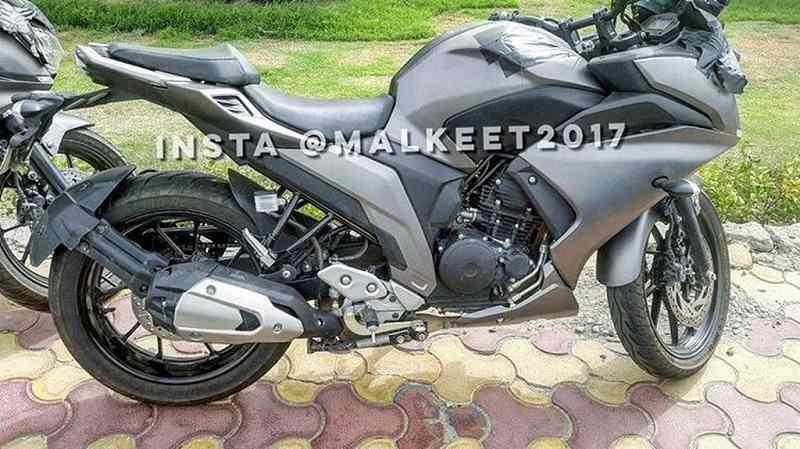 Yamaha Fazer 25 clear spy image - Upcoming Yamaha Bikes
