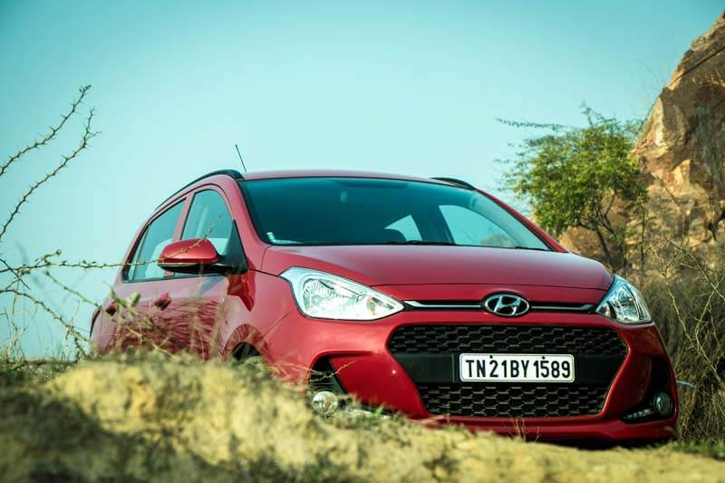 2017 Hyundai Grand i10 Review front profile