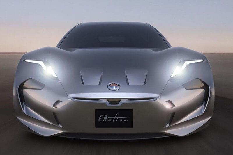 2017 Fisker Emotion electric car