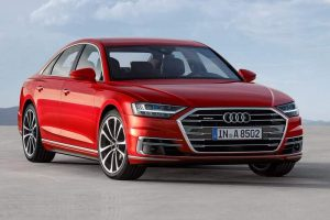 New 2018 Audi A8 India front