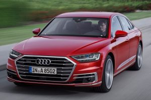 New 2018 Audi A8 India front profile