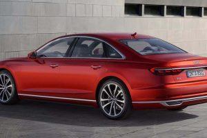 2018 Audi A8 India rear
