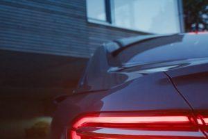 2018 Audi A8 teaser rear