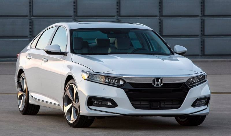 2018 Honda Accord India front grille