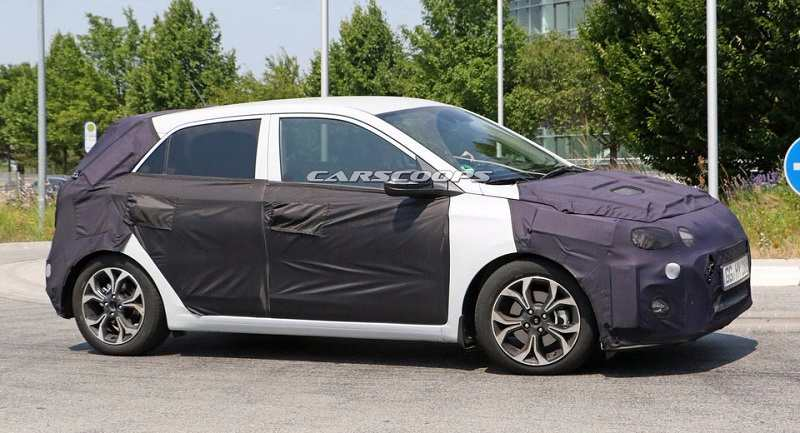 2018 Hyundai Elite i20 Spied Side Profile
