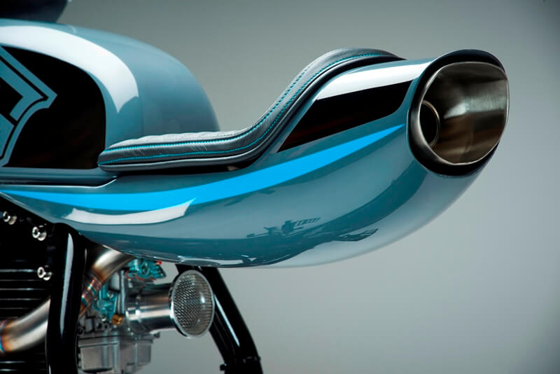 Royal Enfield Custom Bikes Exhaust