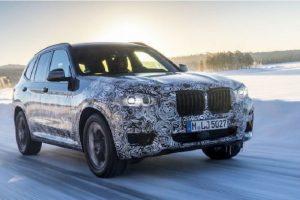 BMW X3 2018 Side