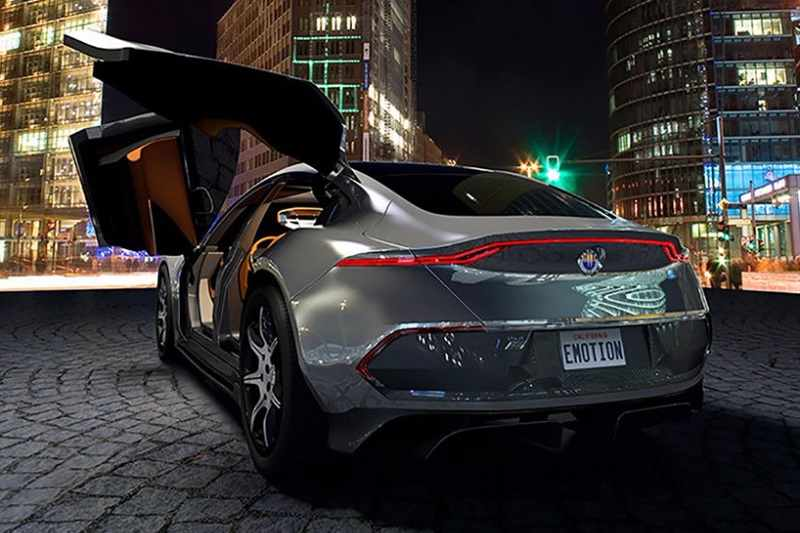Emotion electric car by Fisker