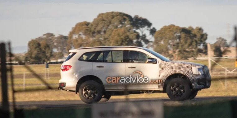 Ford Endeavour 2018 Spied Testing
