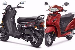 Honda Cliq Vs Honda Activa 4G (1)