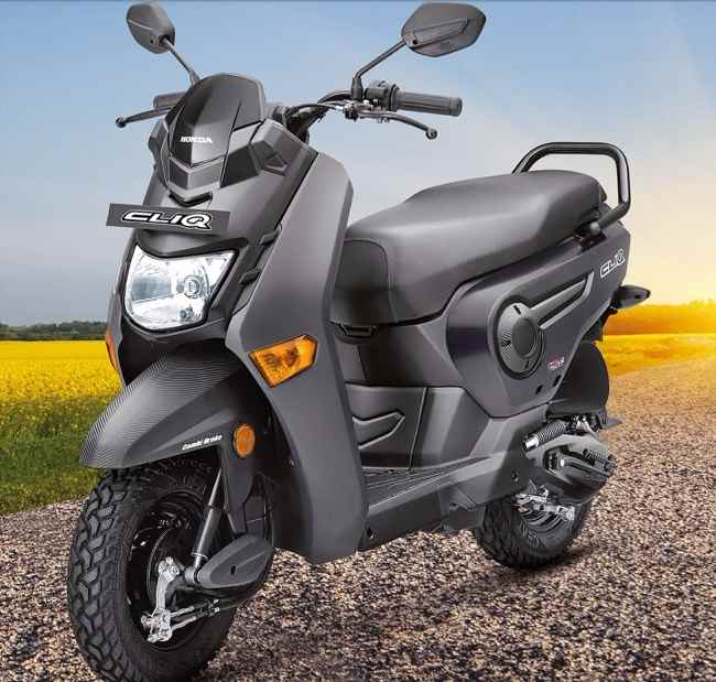Honda Cliq price in India
