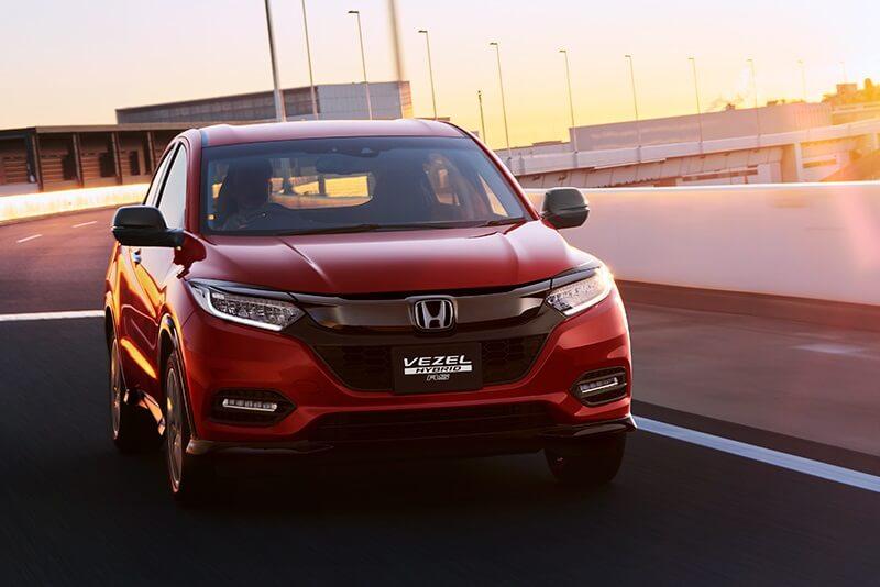 Honda HRV Facelift Front