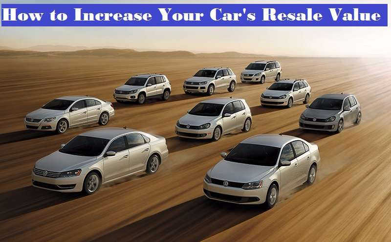 Tips to increase car's resale value